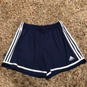 Adidas - navy shorts size Large